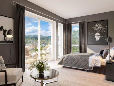 Villa_Bekkestuene_Leiligheter_bedroom